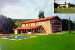Casa de campo en las afueras de Madrid