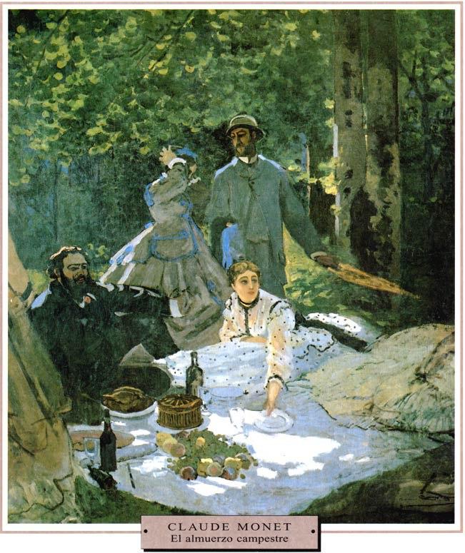 Monet-El-almuerzo-campestre