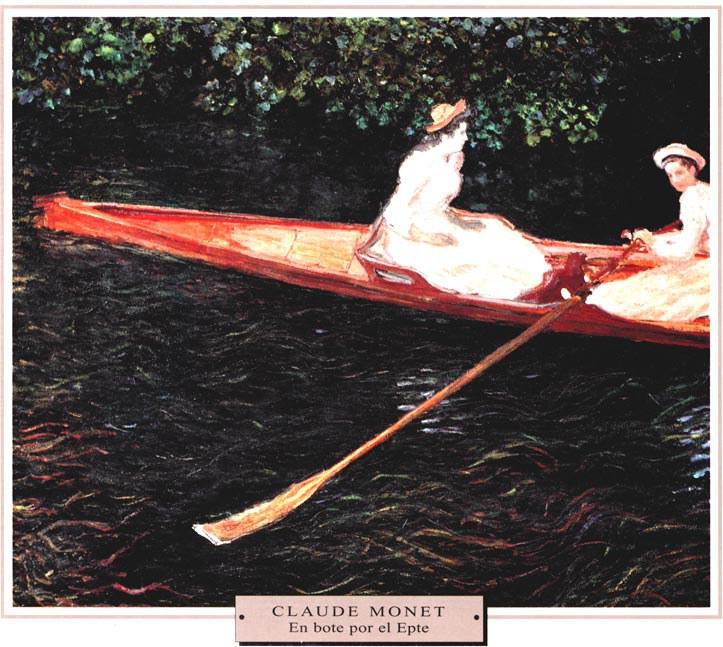 Monet-En-bote-por-el-Epte