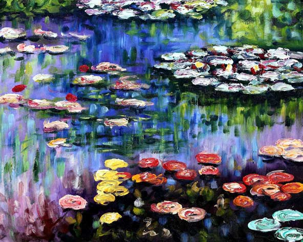 Water-Lilies-by-Claude-Mone