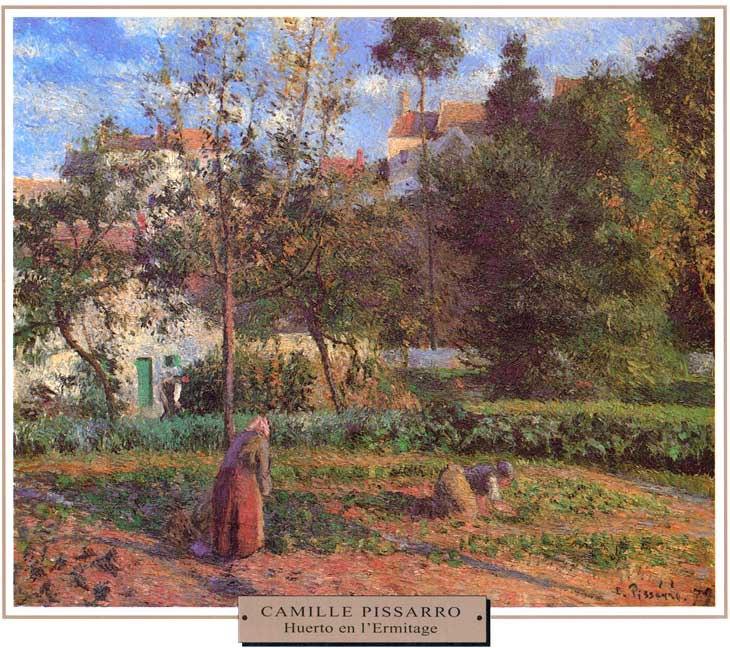 Pissarro-Huerto-en-Ermitage