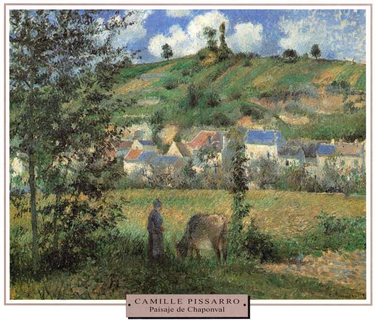 Pissarro-Paisaje-de-Chaponv