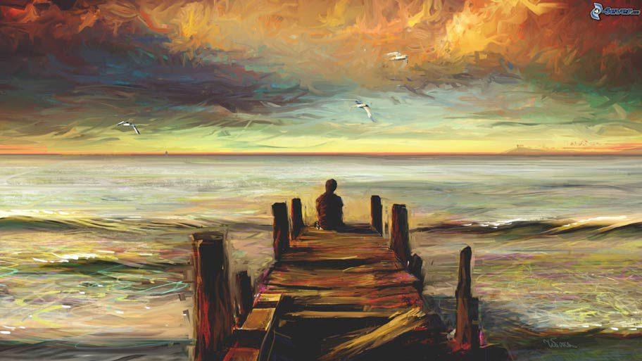 wooden-pier,-sea,-sky