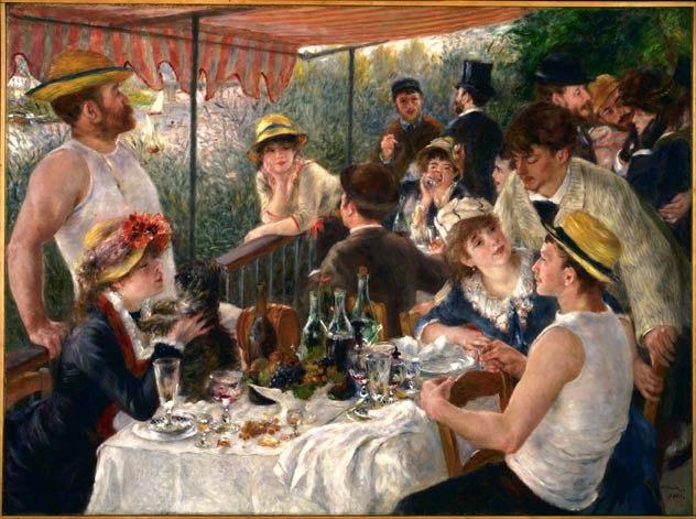 Renoir-Luncheon-Boating
