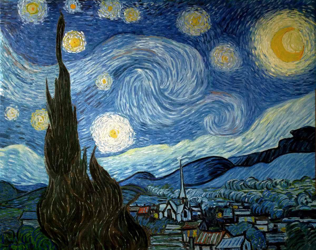 Reproducciones de cuadros de Van Gogh