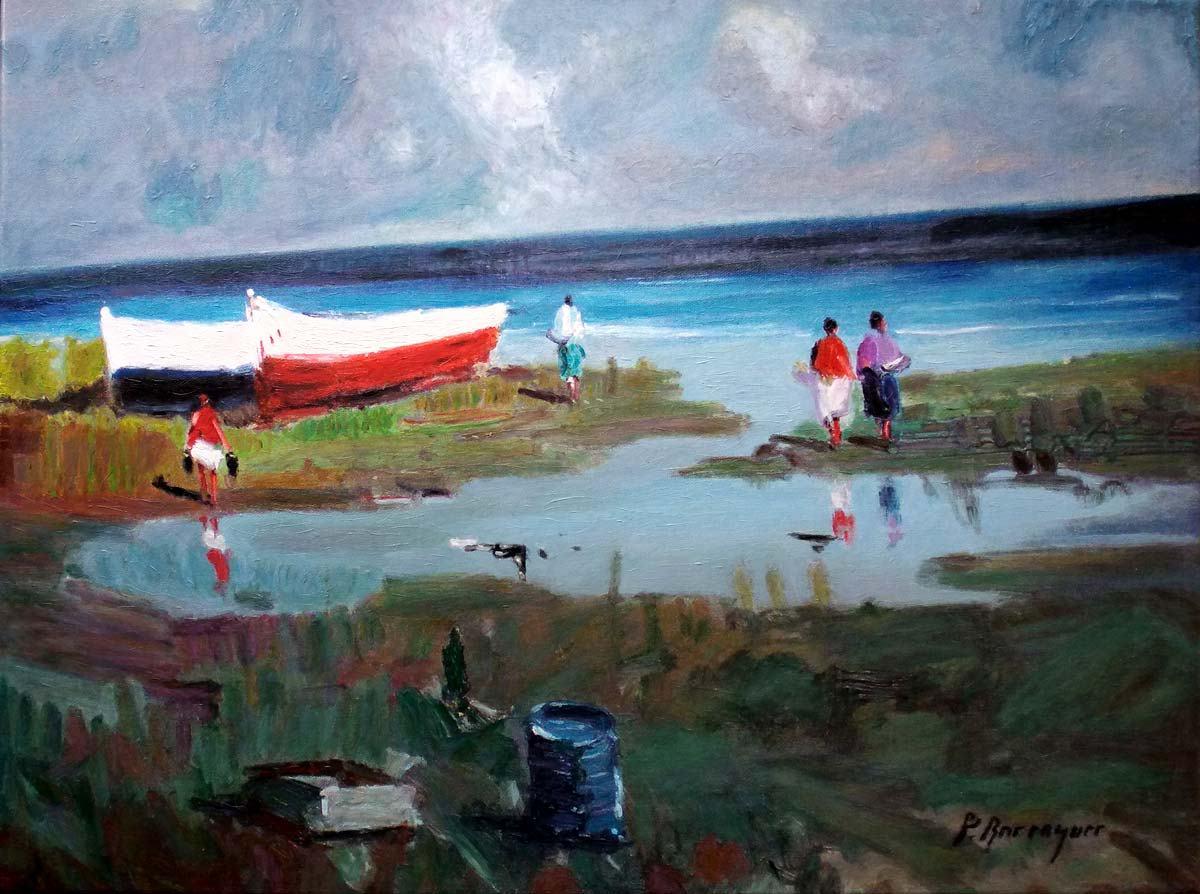 Marinas del pintor Berenguer