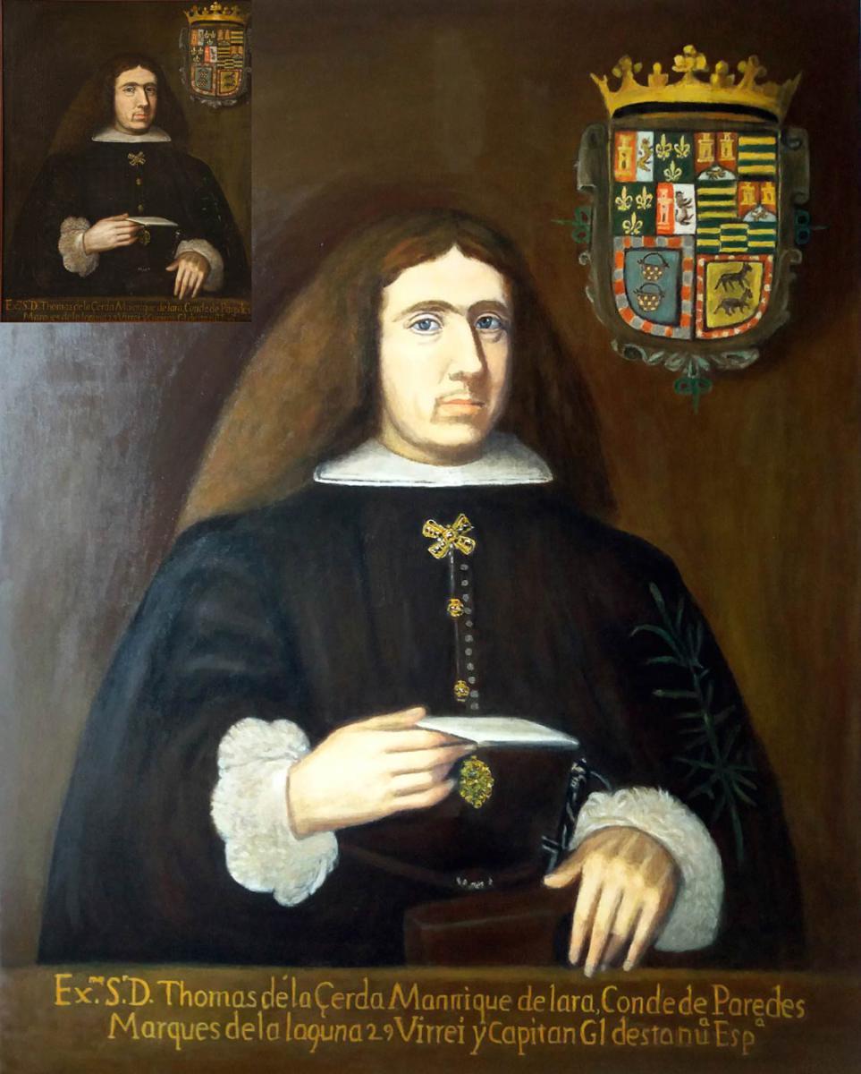 Conde de Paredes y Marqués de la Laguna
