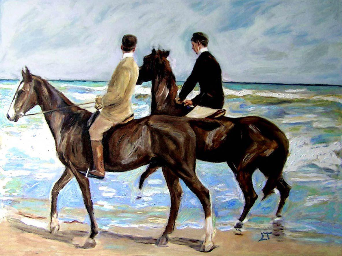 Reproducciones de cuadros de caballos