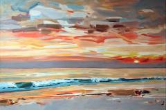 Cuadro del pintor Albanes Josef Kote