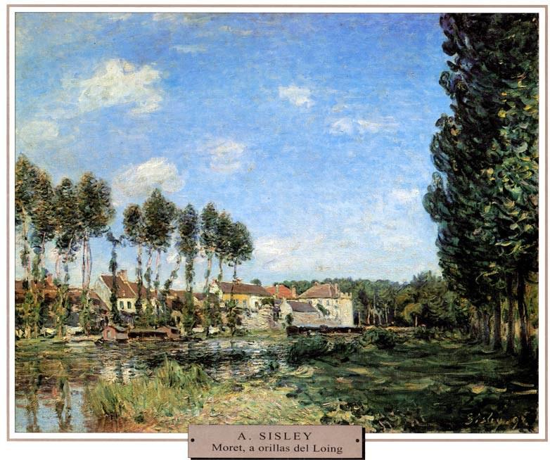 Sisley-Moret-a-orillas-del-