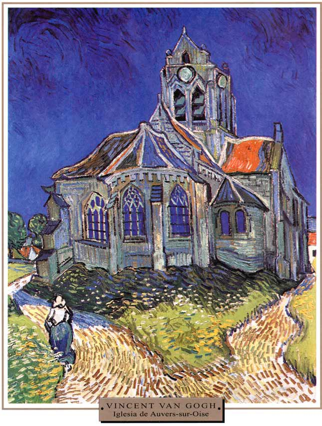 Van-Gogh-Iglesia-de-Auvers